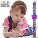Kids Watch for Boys Girls 3D Cute Cartoon Toddler Watch Digital Silicone Band Alarm Stopwatch Digital Child Wristwatch… 19