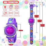 Kids Watch for Boys Girls 3D Cute Cartoon Toddler Watch Digital Silicone Band Alarm Stopwatch Digital Child Wristwatch… 21
