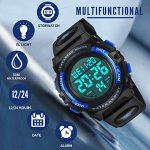 Kids Watches, Boys Digital Outdoors Sport Watch Multifunction Waterproof Digital Watch with LED Light Alarm and Calendar… 18