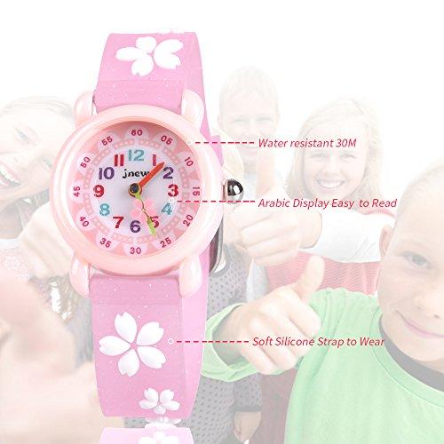Kids Waterproof Watch, 3D Lovely Cartoon Watch for Girl and Boy-The Best Gift 3