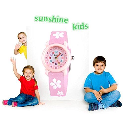 Kids Waterproof Watch, 3D Lovely Cartoon Watch for Girl and Boy-The Best Gift 4