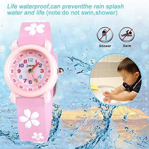 Kids Waterproof Watch, 3D Lovely Cartoon Watch for Girl and Boy-The Best Gift 5
