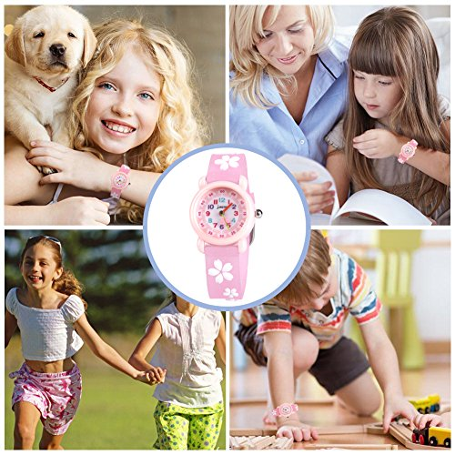Kids Waterproof Watch, 3D Lovely Cartoon Watch for Girl and Boy-The Best Gift 8