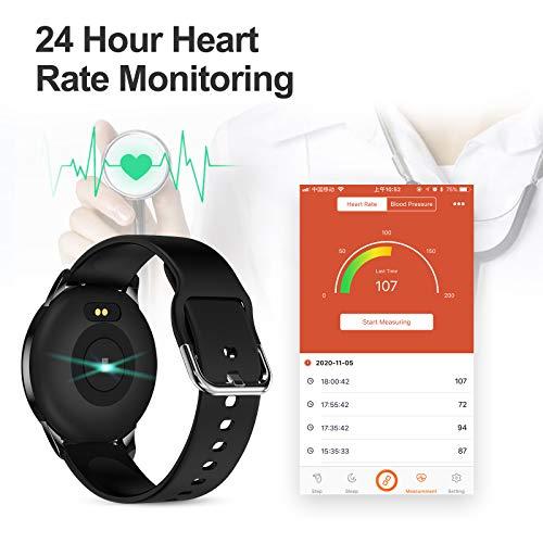 LIGE Smart Watch IP68 Waterproof Sports Fitness Tracker with Blood Pressure/Heart Rate/Sleep Monitor Pedometer Stopwatch… 3