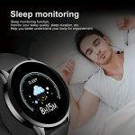 LIGE Smart Watch IP68 Waterproof Sports Fitness Tracker with Blood Pressure/Heart Rate/Sleep Monitor Pedometer Stopwatch… 21