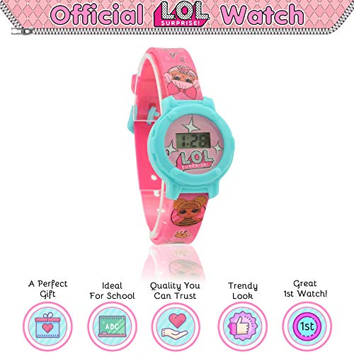 L.O.L.Surprise ! Digital Watch for Girls with Clock Face and Kids Doll Accessories 3