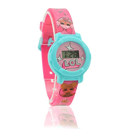 L.O.L.Surprise ! Digital Watch for Girls with Clock Face and Kids Doll Accessories 1