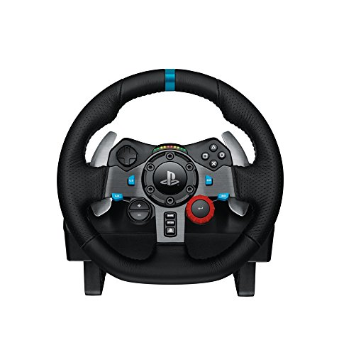 Logitech G29 Driving Force Racing Wheel & Pedals Plus Gear Shifter Bundle (PS4 / PS3 & PC) UK-Plug 7