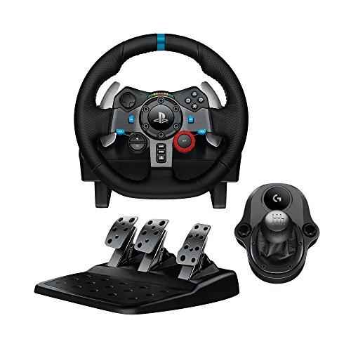 Logitech G29 Driving Force Racing Wheel & Pedals Plus Gear Shifter Bundle (PS4 / PS3 & PC) UK-Plug 2