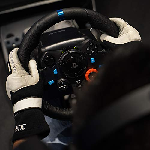 Logitech G29 Driving Force Racing Wheel and Floor Pedals, Real Force Feedback, Stainless Steel Paddle Shifters, Leather… 5