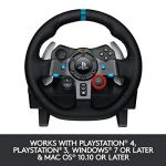 Logitech G29 Driving Force Racing Wheel and Floor Pedals, Real Force Feedback, Stainless Steel Paddle Shifters, Leather… 22