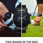 MOTO Motorola 360 3rd Gen Smartwatch - Stainless Steel Case With 20mm Bands, All-day Battery, & WearOs Black, One Size… 22