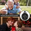 Memory Gift to My Grandson Pocket Watch, I Love You to Grandson Gift from Grandpa Grandma 14
