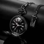 Memory Gift to My Grandson Pocket Watch, I Love You to Grandson Gift from Grandpa Grandma 22
