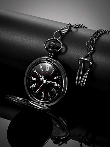 Memory Gift to My Grandson Pocket Watch, I Love You to Grandson Gift from Grandpa Grandma 8
