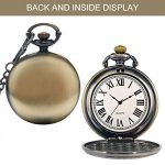Mens Pocket Watch, Vintage Quartz Pocket Watches with Chain for Men, Pendant Pocket Watch for The Greatest Dad… 19