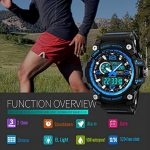 Mens Sports Watch, 5 ATM Waterproof Digital Military Watches with Countdown/Timer/Alarm for Men, Shock Resistant LED… 21