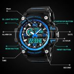 Mens Sports Watch, 5 ATM Waterproof Digital Military Watches with Countdown/Timer/Alarm for Men, Shock Resistant LED… 23