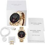 Michael Kors Connected Smartwatch with Wear OS by Google with Speaker, Heart Rate, GPS, NFC, and Smartphone… 29