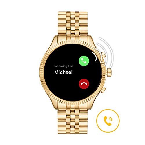 Michael Kors Gen 5 Lexington Connected Smartwatch with Wear OS by Google and Loudspeaker, GPS, Heart Rate and Smartphone… 8