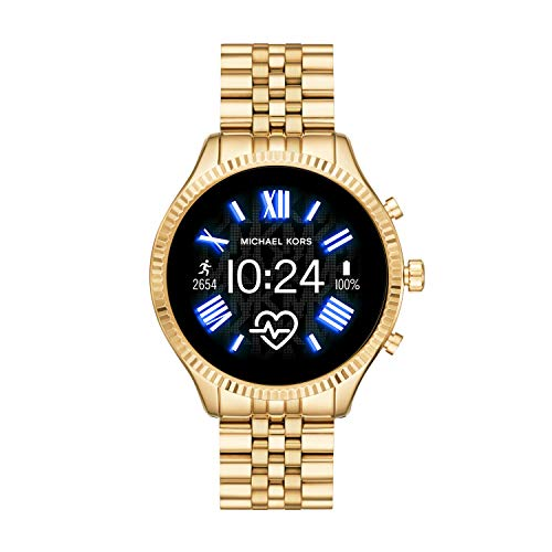 Michael Kors Gen 5 Lexington Connected Smartwatch with Wear OS by Google and Loudspeaker, GPS, Heart Rate and Smartphone… 1