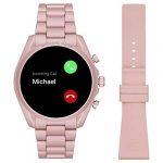 Michael Kors Touchscreen Smartwatch Gen 5 Bradshaw 2 Blush-Tone Aluminum Pink for Woman MKT5098 21