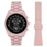 Michael Kors Touchscreen Smartwatch Gen 5 Bradshaw 2 Blush-Tone Aluminum Pink for Woman MKT5098 19