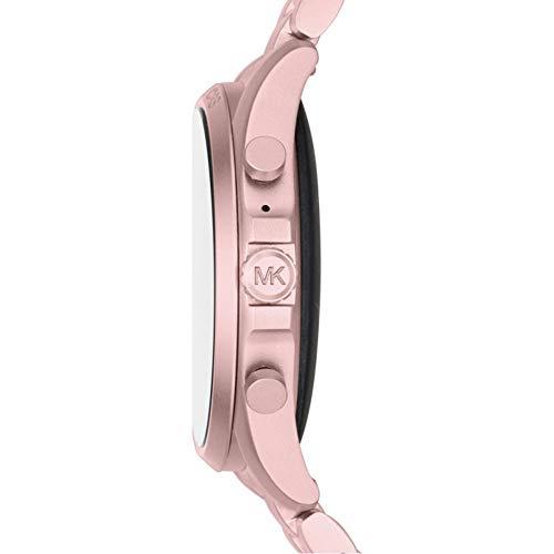 Michael Kors Touchscreen Smartwatch Gen 5 Bradshaw 2 Blush-Tone Aluminum Pink for Woman MKT5098 5
