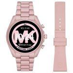 Michael Kors Touchscreen Smartwatch Gen 5 Bradshaw 2 Blush-Tone Aluminum Pink for Woman MKT5098 23