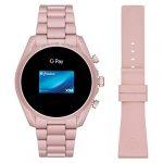 Michael Kors Touchscreen Smartwatch Gen 5 Bradshaw 2 Blush-Tone Aluminum Pink for Woman MKT5098 24