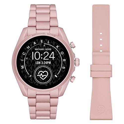 Michael Kors Touchscreen Smartwatch Gen 5 Bradshaw 2 Blush-Tone Aluminum Pink for Woman MKT5098 1