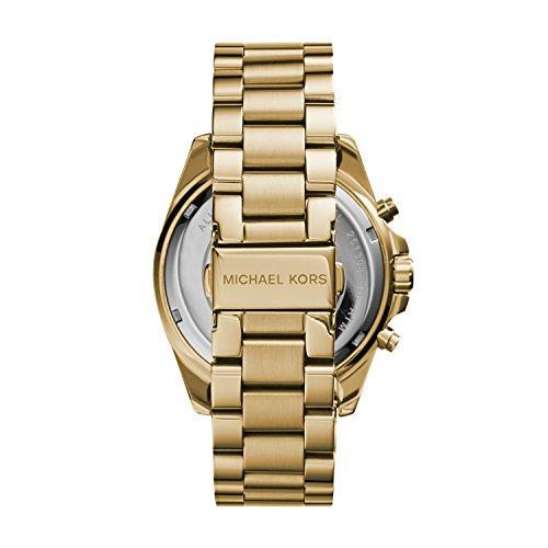Michael Kors Women's Bradshaw Chronograph Stainless Steel Watch 3