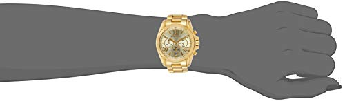 Michael Kors Women's Bradshaw Chronograph Stainless Steel Watch 4