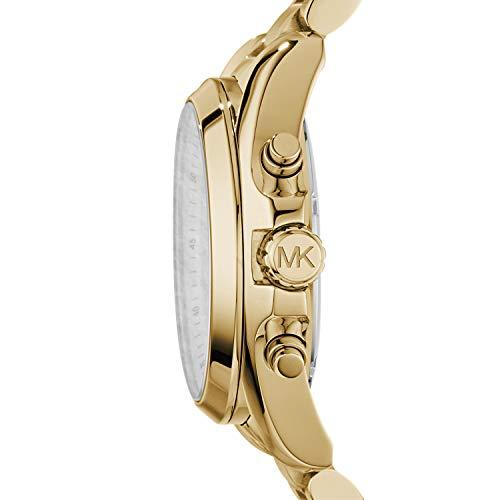 Michael Kors Women's Bradshaw Chronograph Stainless Steel Watch 8