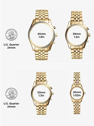 Michael Kors Women's Bradshaw Chronograph Stainless Steel Watch 9