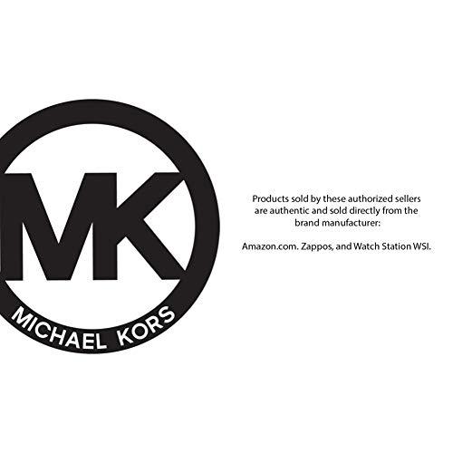 Michael Kors Women's Slim Runway Three-Hand Stainless Steel Quartz Watch 3
