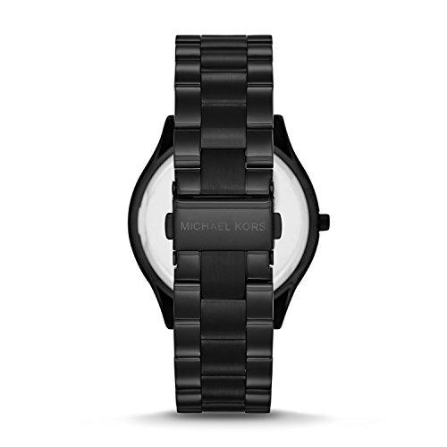 Michael Kors Women's Slim Runway Three-Hand Stainless Steel Quartz Watch 5
