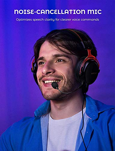 Mpow PS4 Headset Xbox one, Air SE Gaming Headset with mic, Over-Ear Gaming Headphones with 3D Surround Sound, In-Line… 3