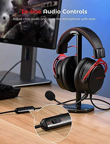 Mpow PS4 Headset Xbox one, Air SE Gaming Headset with mic, Over-Ear Gaming Headphones with 3D Surround Sound, In-Line… 4