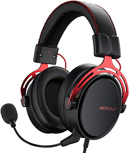 Mpow PS4 Headset Xbox one, Air SE Gaming Headset with mic, Over-Ear Gaming Headphones with 3D Surround Sound, In-Line… 1