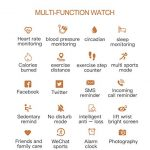 Multi-Perspective Multi-Function Smart Watch for Women Blood Pressure Sleep Heart Rate Physiological Cycle Monitor… 14