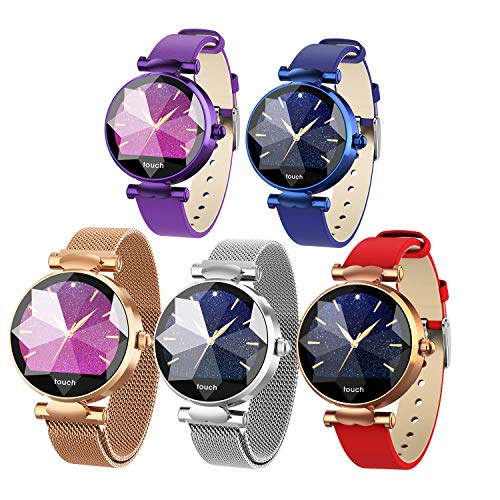 Multi-Perspective Multi-Function Smart Watch for Women Blood Pressure Sleep Heart Rate Physiological Cycle Monitor… 4