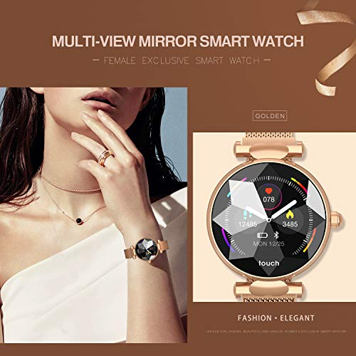 Multi-Perspective Multi-Function Smart Watch for Women Blood Pressure Sleep Heart Rate Physiological Cycle Monitor… 5