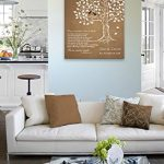 MuralMax Personalized Anniversary Family Tree Artwork - Love is Patient Love Is Kind Bible Verse - Unique Wedding… 18