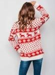 New Unisex Ladies Men Kids Christmas Jumper Reindeer Snowflakes Knitted Xmas Long Sweater Top 12