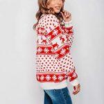 New Unisex Ladies Men Kids Christmas Jumper Reindeer Snowflakes Knitted Xmas Long Sweater Top 13