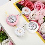 Nurse Fob Watch, Vintoney Retractable Clip-on Hanging Lapel Nurse Watch with Silicone Cover Brooch Badge Reel… 22