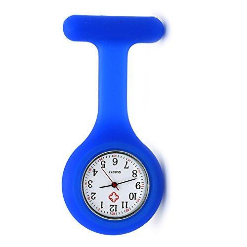 Nurse Watch Brooch, Silicone with Pin/Clip, Infection Control Design, Health Care Nurse Doctor Paramedic Medical Brooch… 1