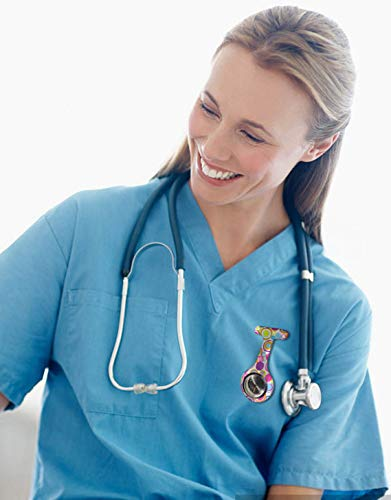 Nurse Watch, PPpanda Doctor Watch Medical Watch Lapel Pin Watch 6