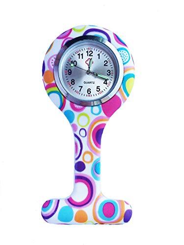 Nurse Watch, PPpanda Doctor Watch Medical Watch Lapel Pin Watch 1